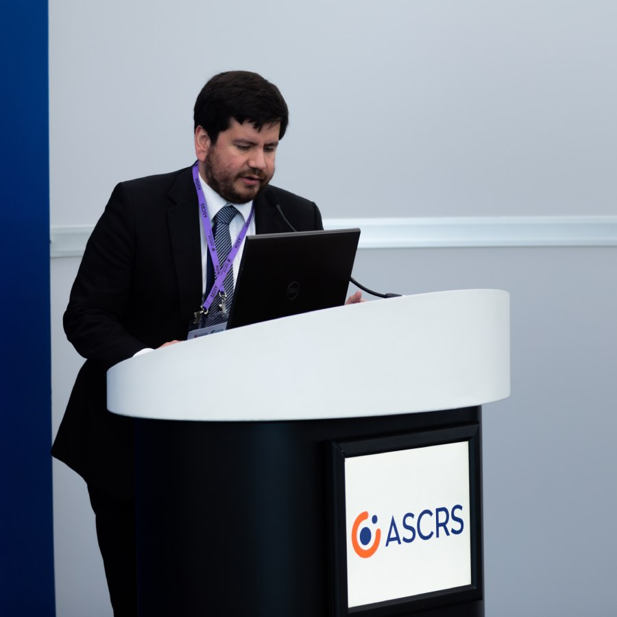 Speaker at ASCRS Annual Meeting
